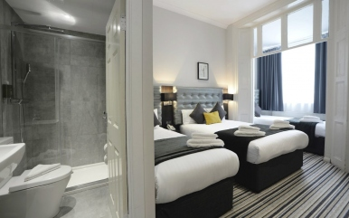 Triple room at The 29 London Hotel
