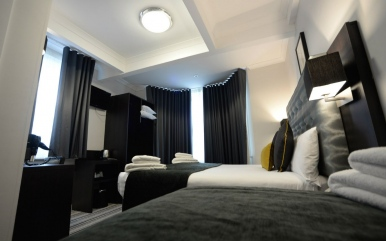 Double room at The 29 London Hotel